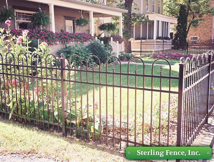 Wrought Iron Fence Jerith Style 111 Minneapolis Mn