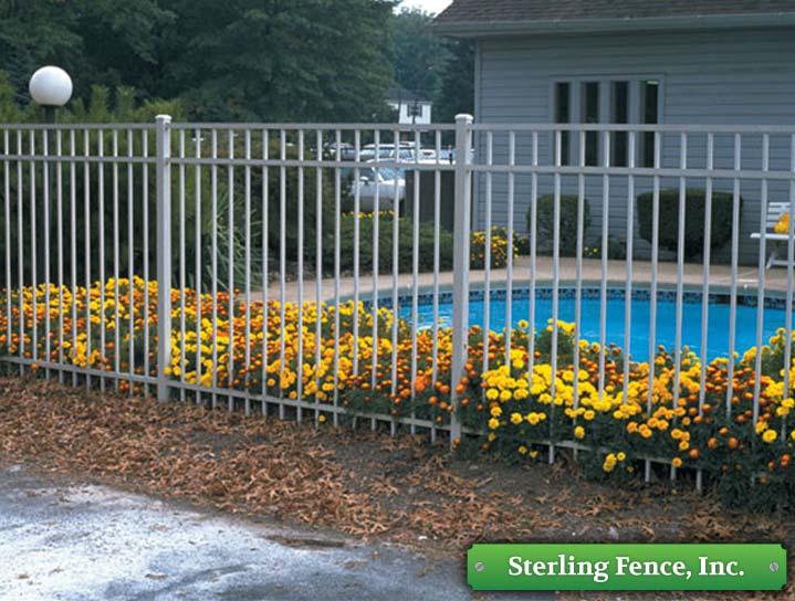 Aluminum Fence Jerith Style 202 Minneapolis Mn