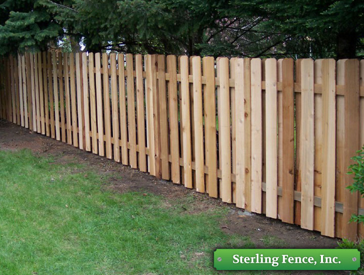 Wood Fences Wooden Fencing Alternating Board