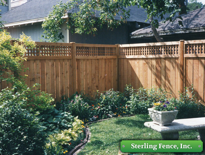 Solid Board Wood Fence Wooden Privacy Fencing
